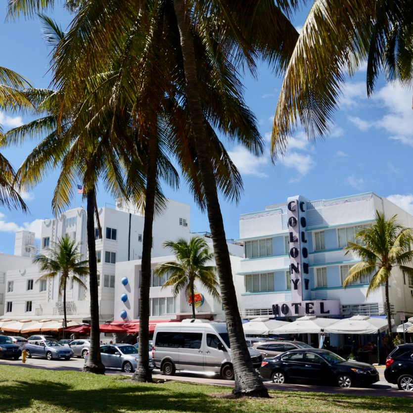 travel with kids children miami south beach mondrian ocean drive colony hotel