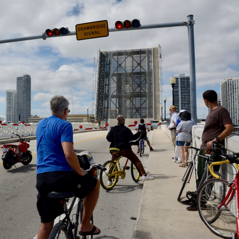 travel with kids children miami south beach drawbridge