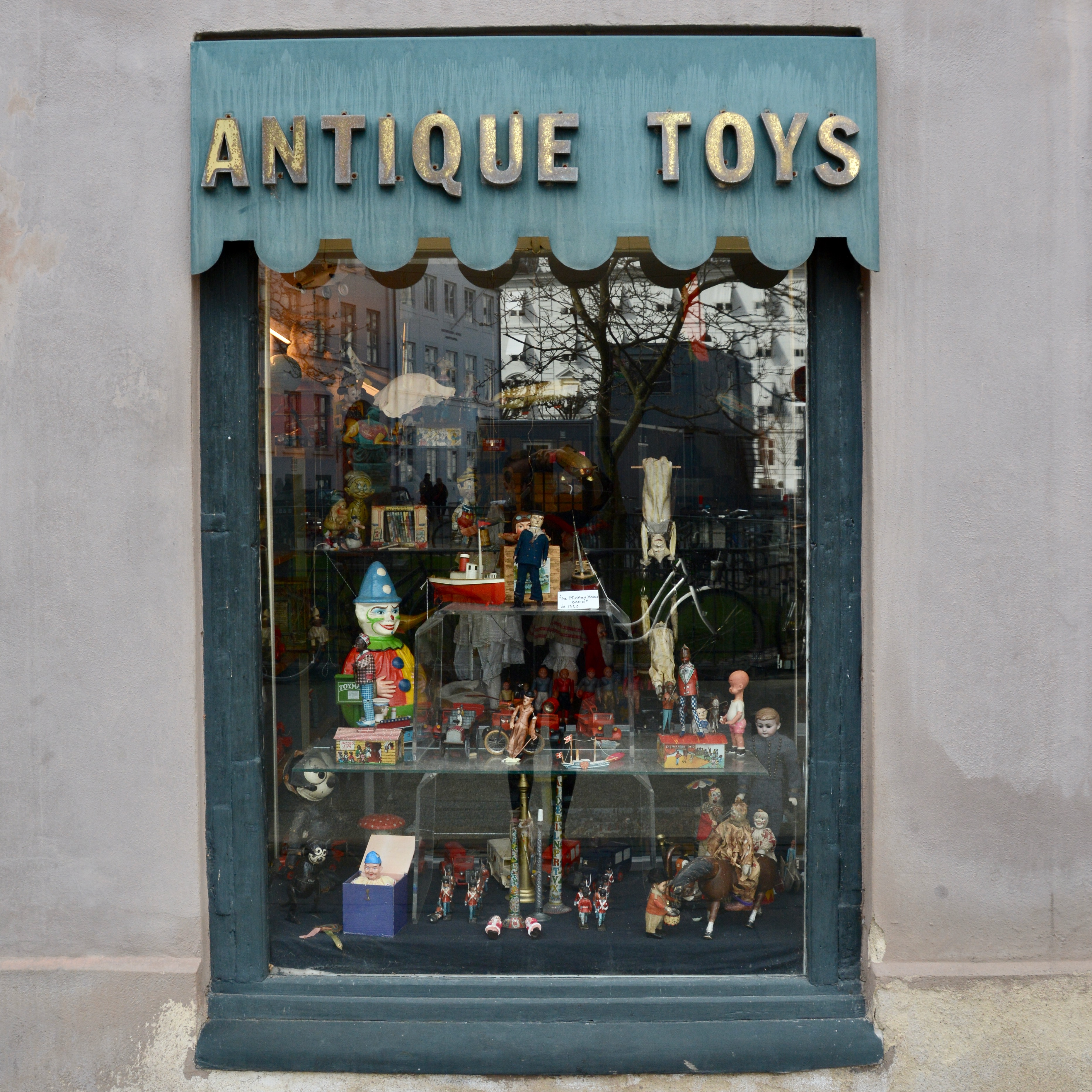 travel with kids children Copenhagen Denmark antique toys