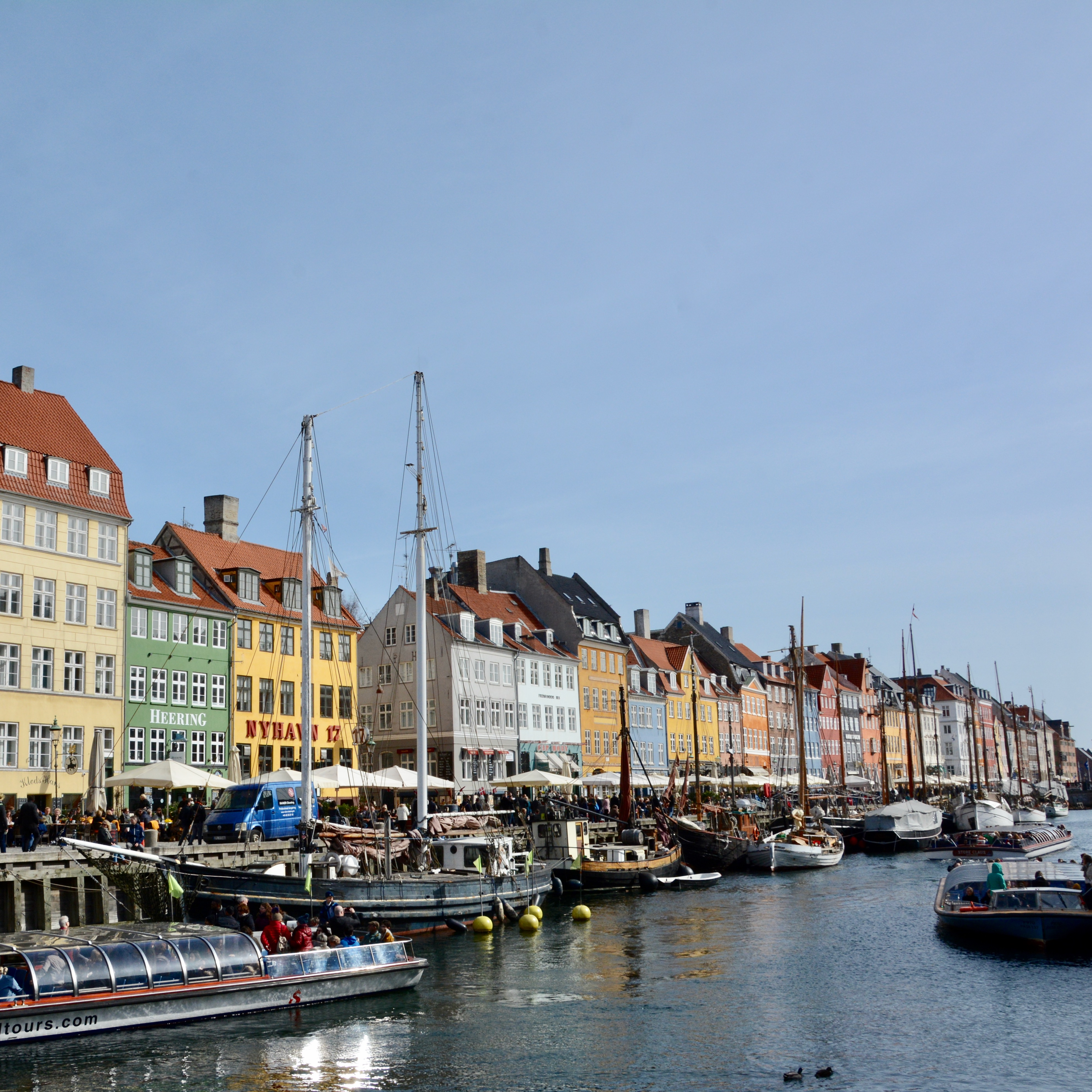 travel with kids children Copenhagen Denmark nyhavn canal architecture