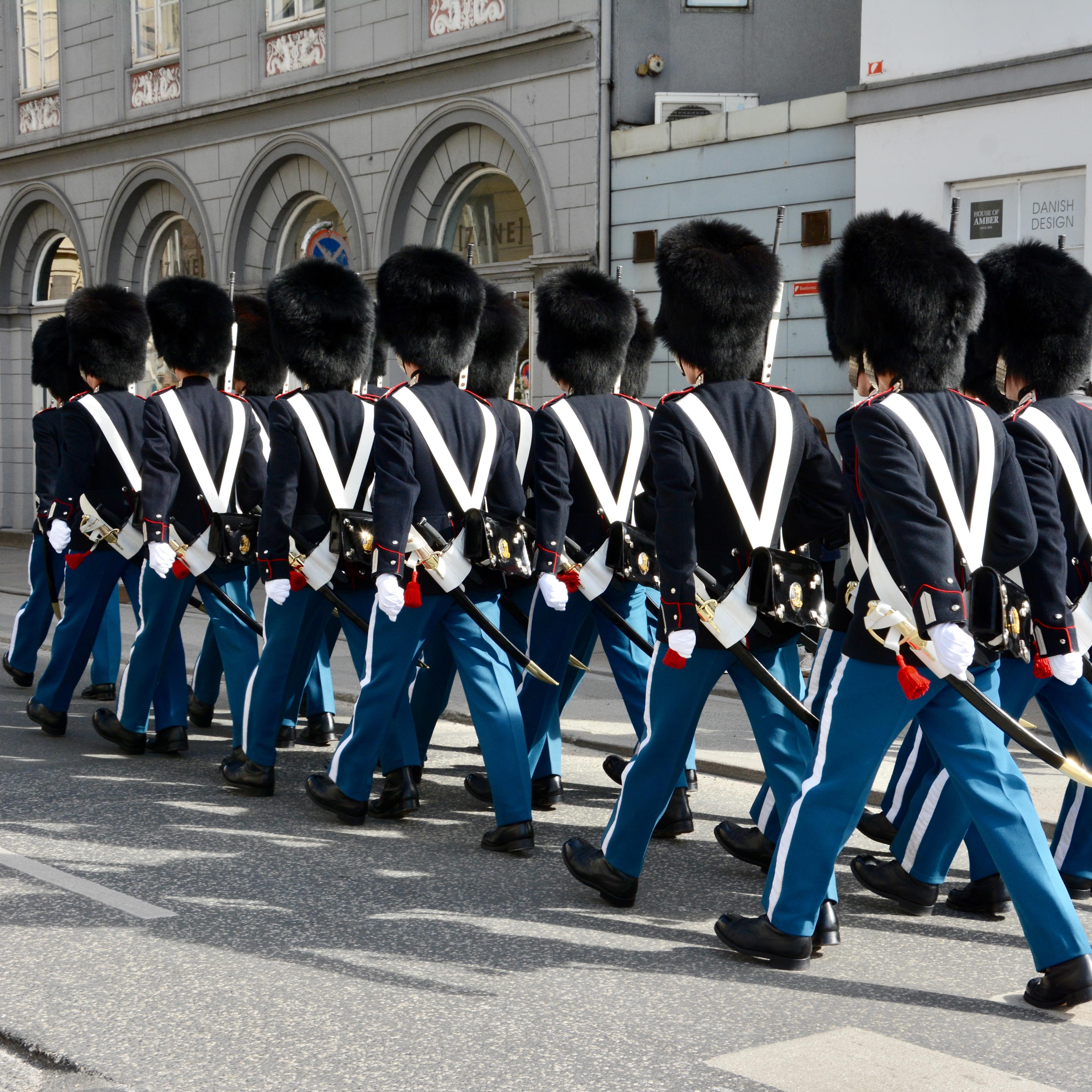 travel with kids children Copenhagen Denmark nyhavn royal guards