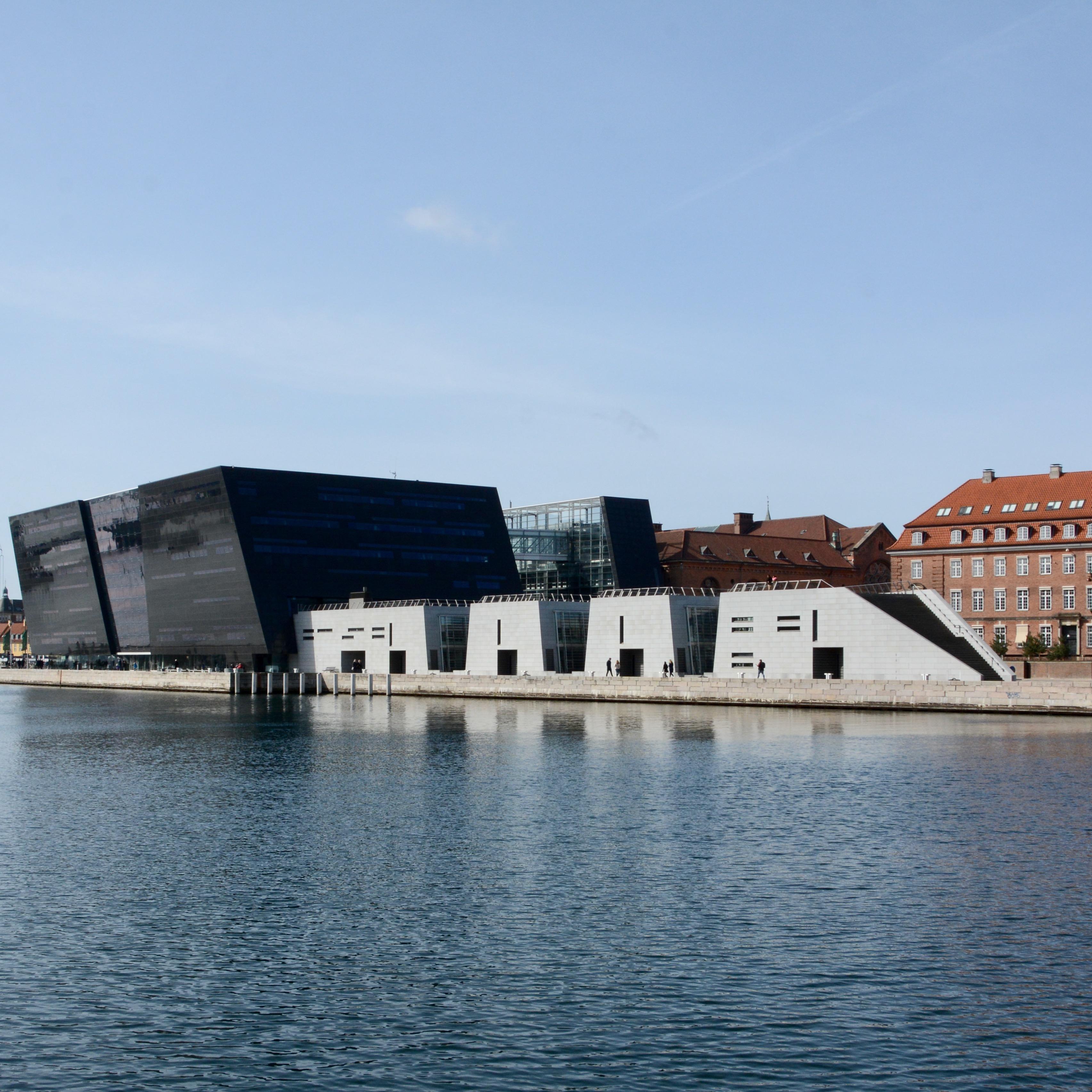travel with kids children Copenhagen Denmark black diamond library