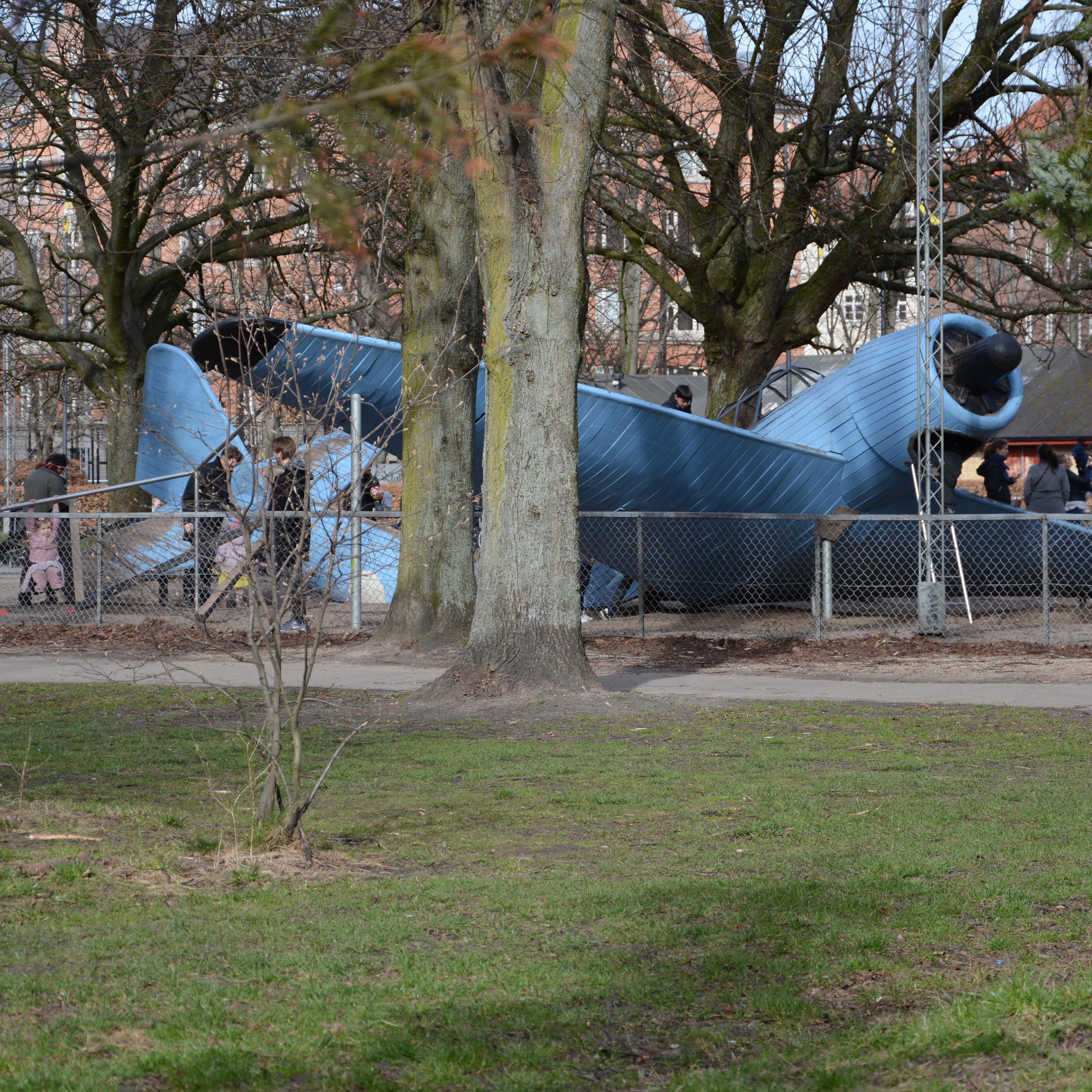 travel with kids children Copenhagen Denmark vesterbro playground