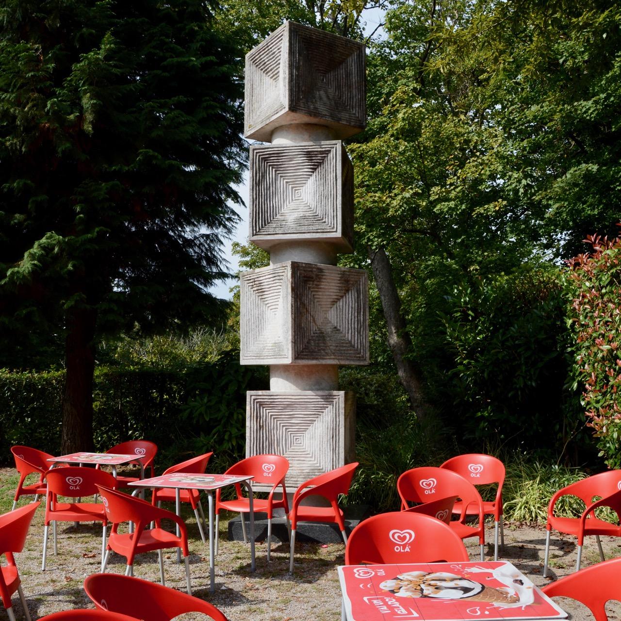 travel with kids children porto portugal crystal pavilion statue