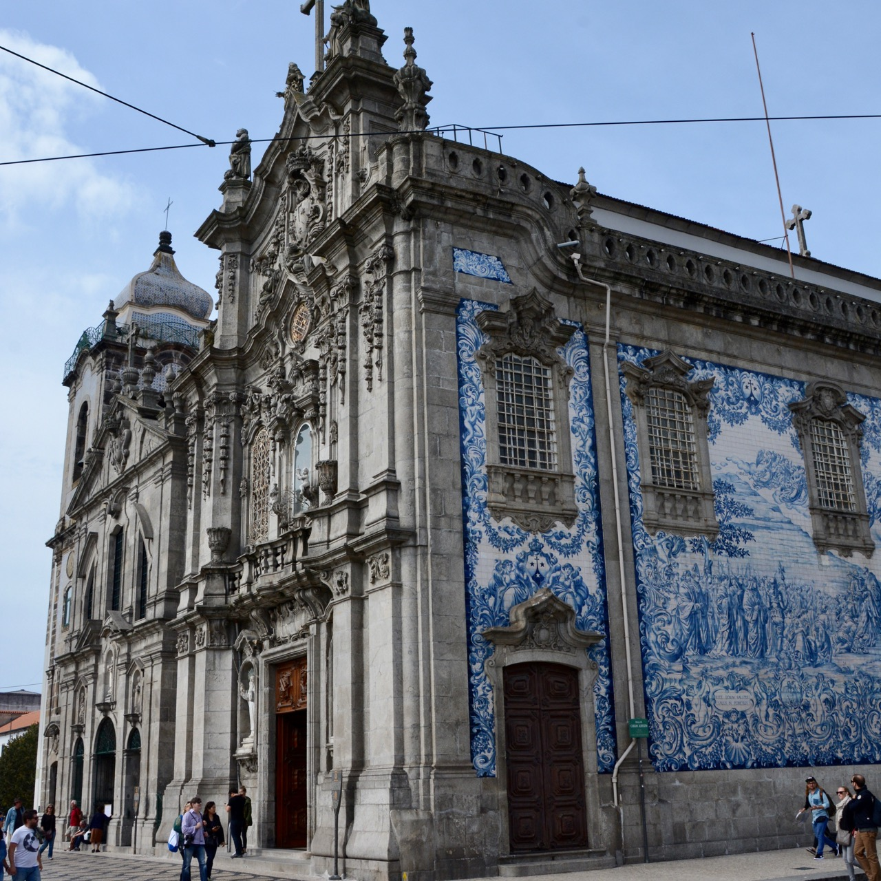 travel with kids children porto portugal chuch cloister