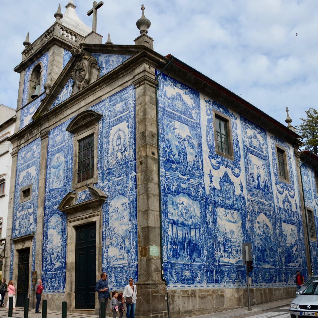 travel with kids children porto portugal cappella del almas