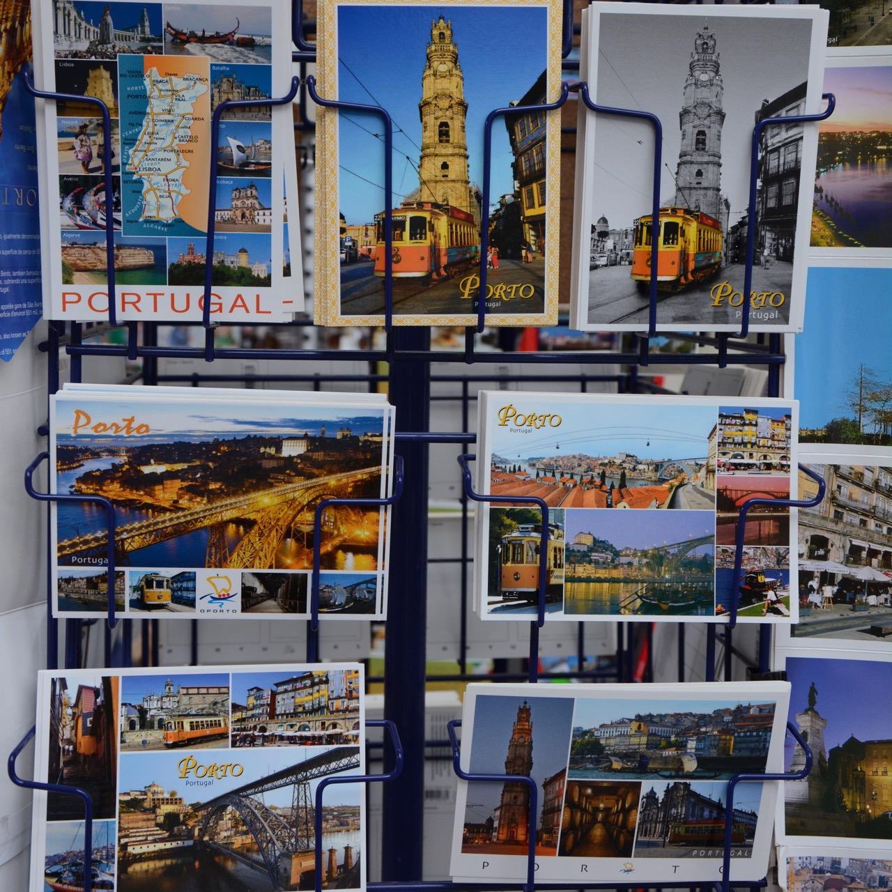 travel with kids children porto portugal postcard