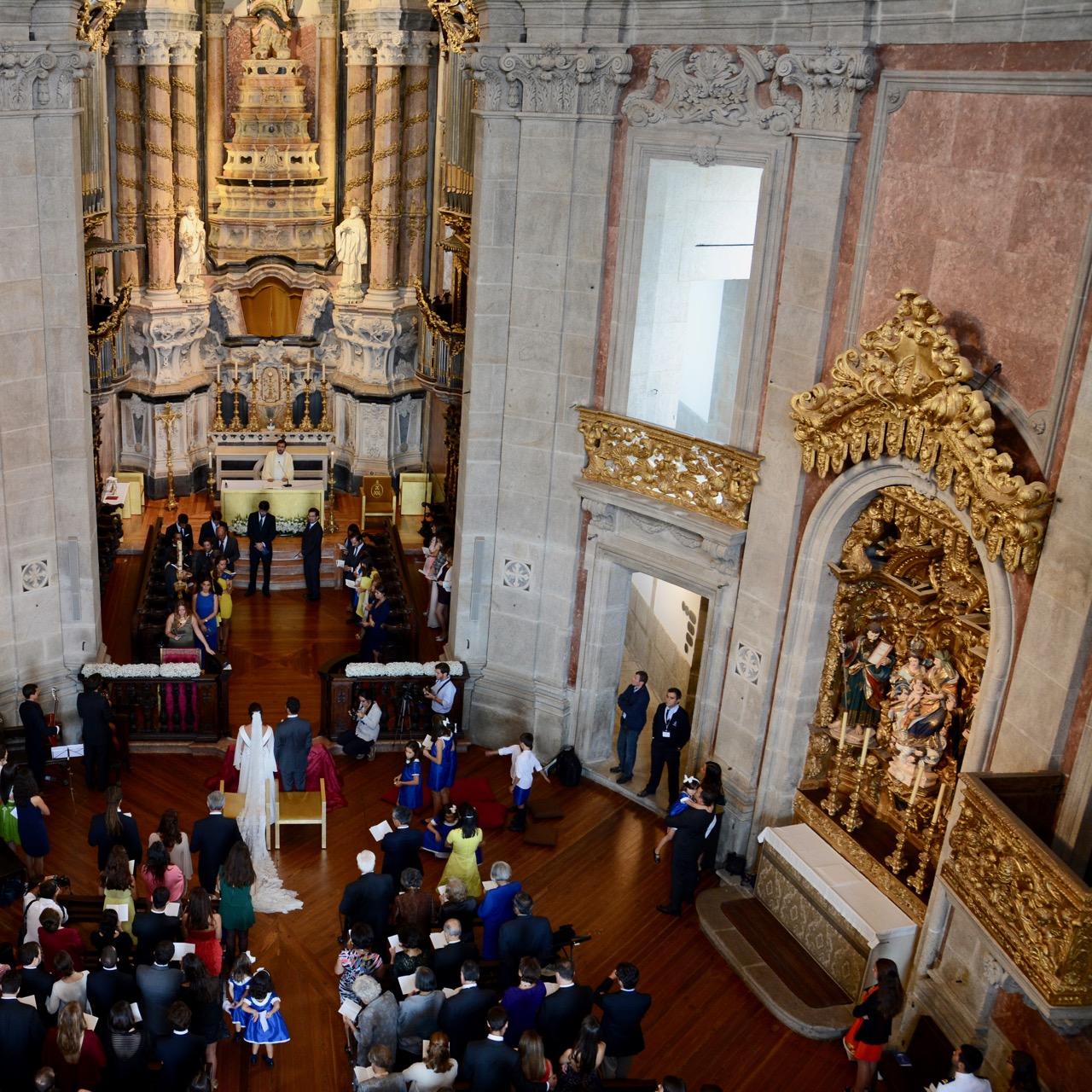 travel with kids children porto portugal church clerics