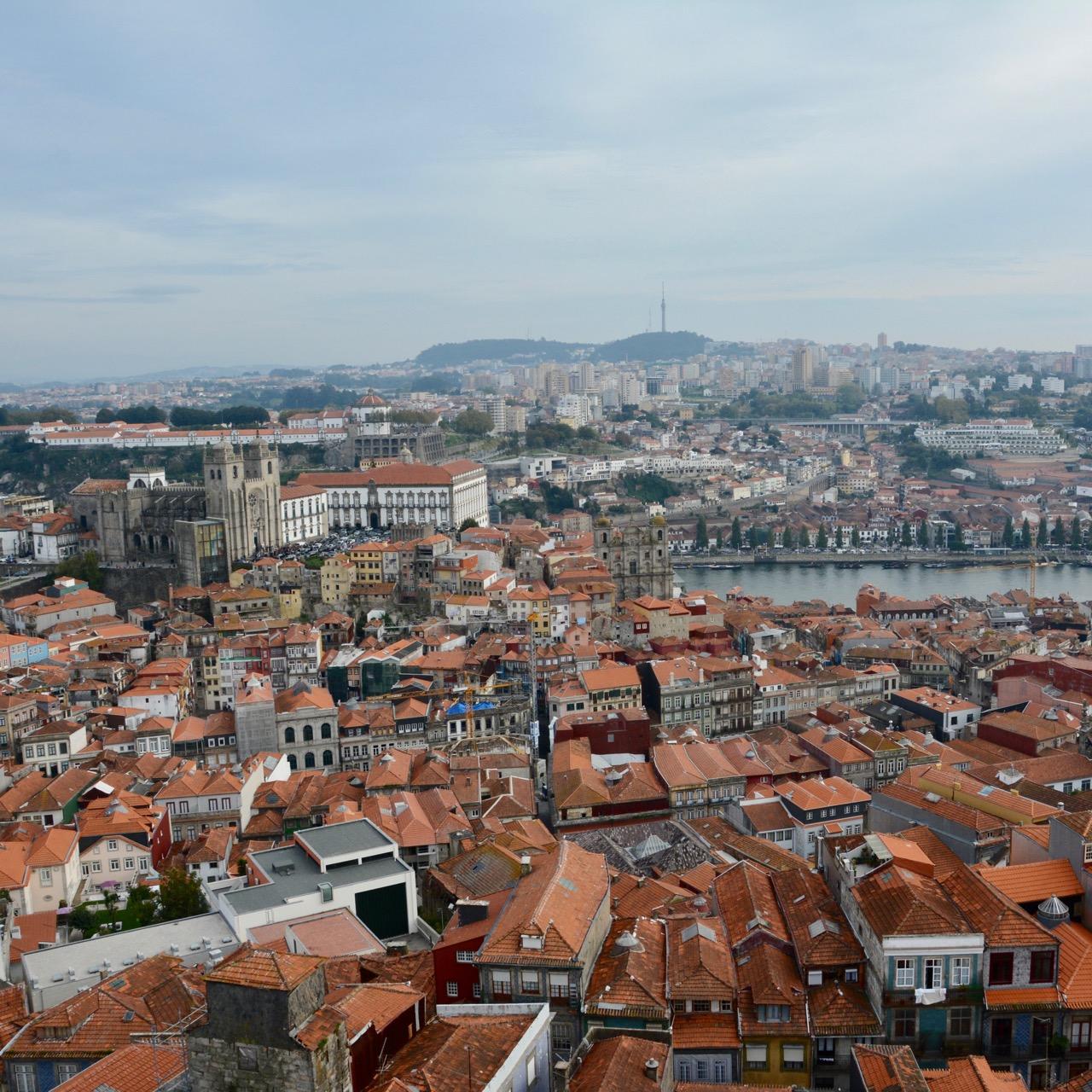 travel with kids children porto portugal river view