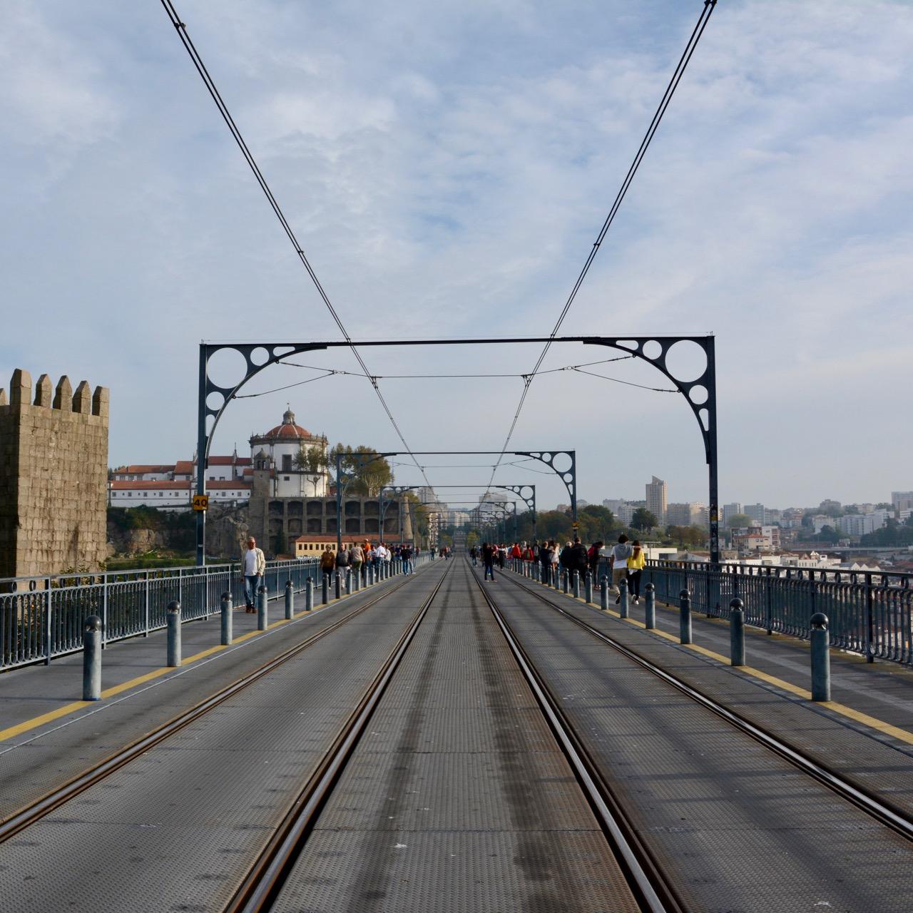 travel with kids children porto portugal ponte dom luis I