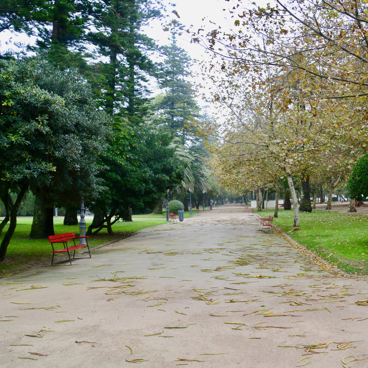 travel with kids children porto portugal garden passeio alegre