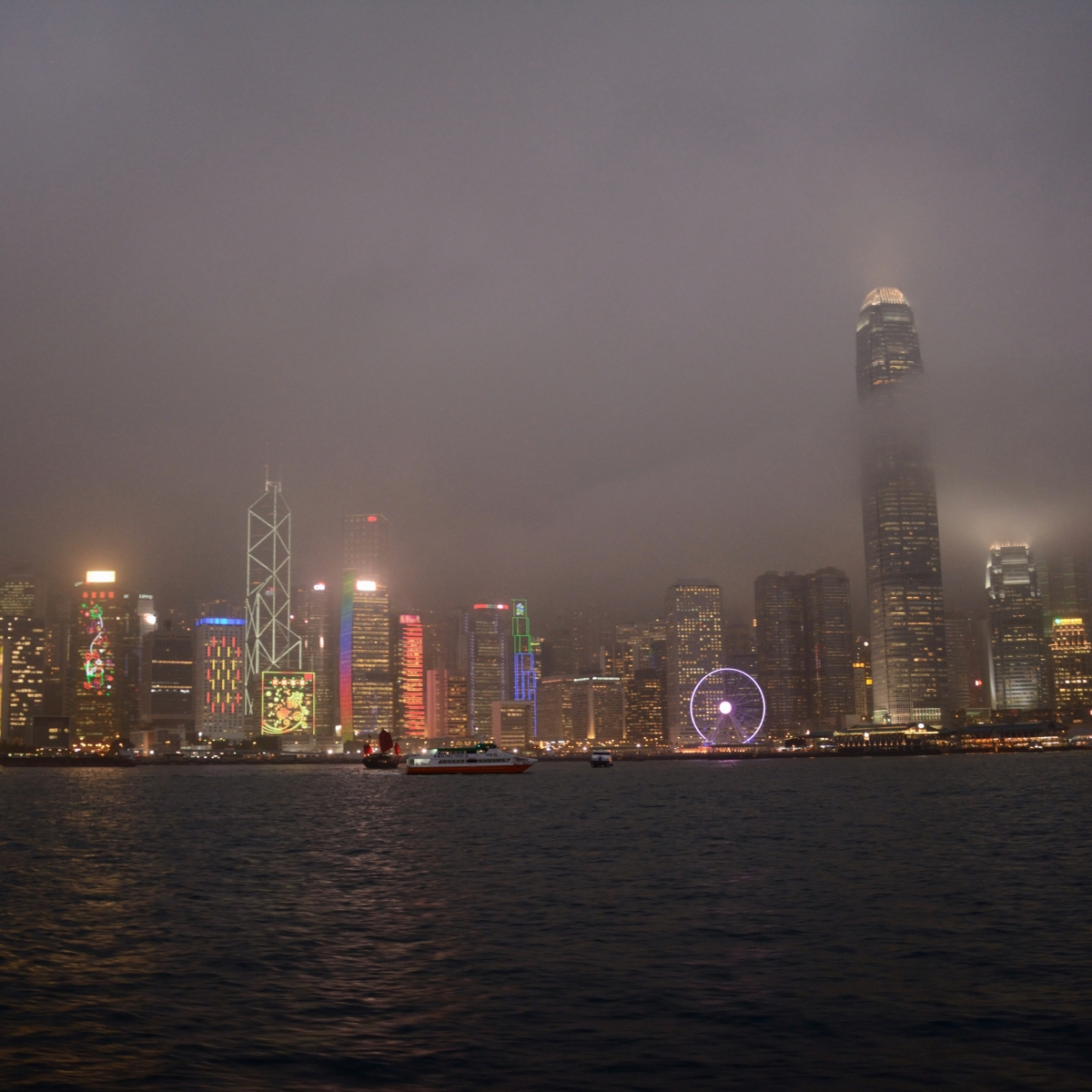 Kowloon, Hong Kong | Afternoon Tea at the Ritz and a Ride on the Star Ferry atNight