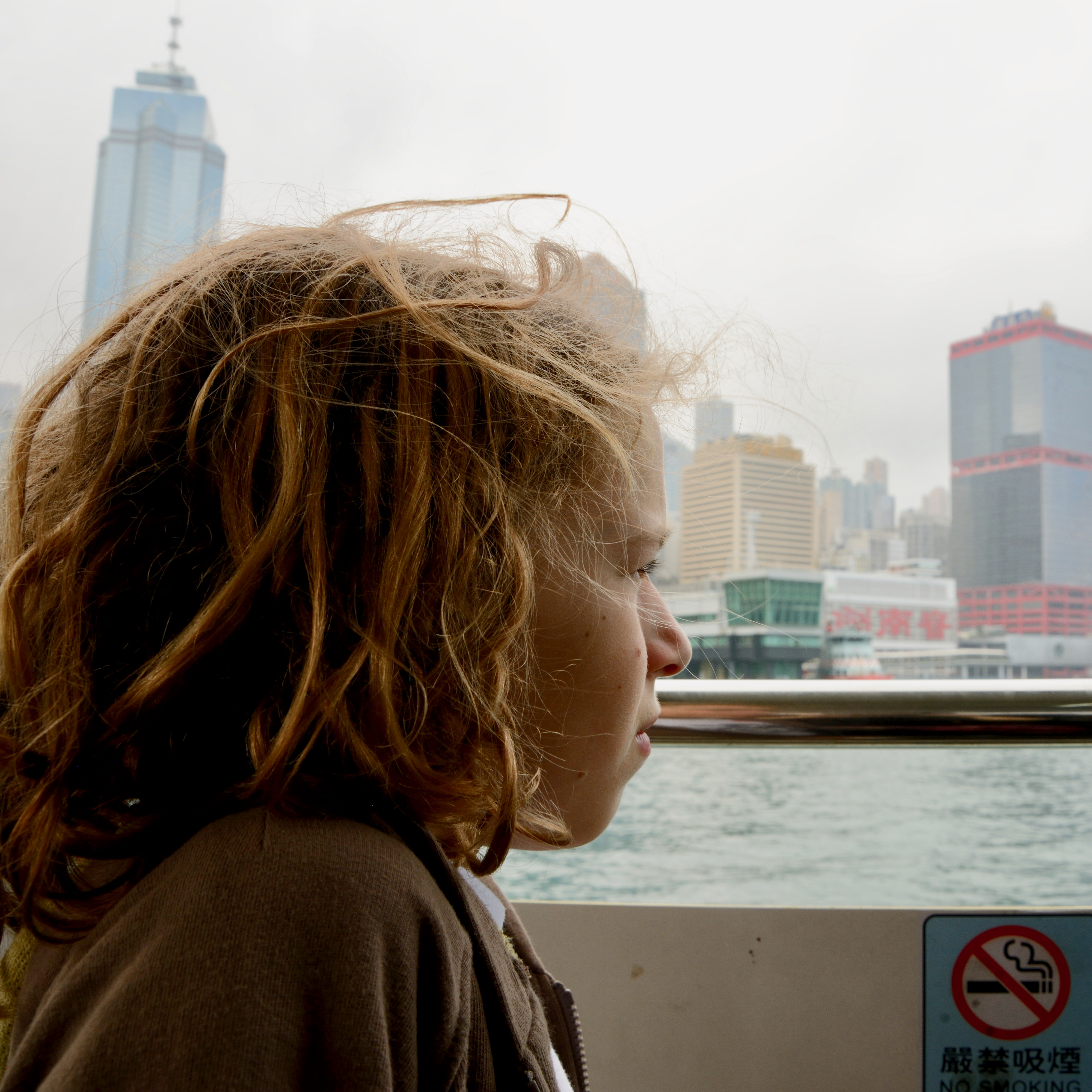 travel hong kong with kids children victoria bay ferry ride