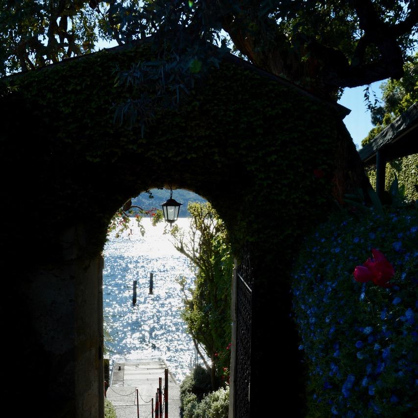 travel with kids children isola madre lago maggiore italy palazzo borromeo entrance gate