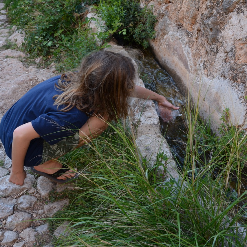 travel with kids children soller mallorca spain hiking fornalutx binibassi