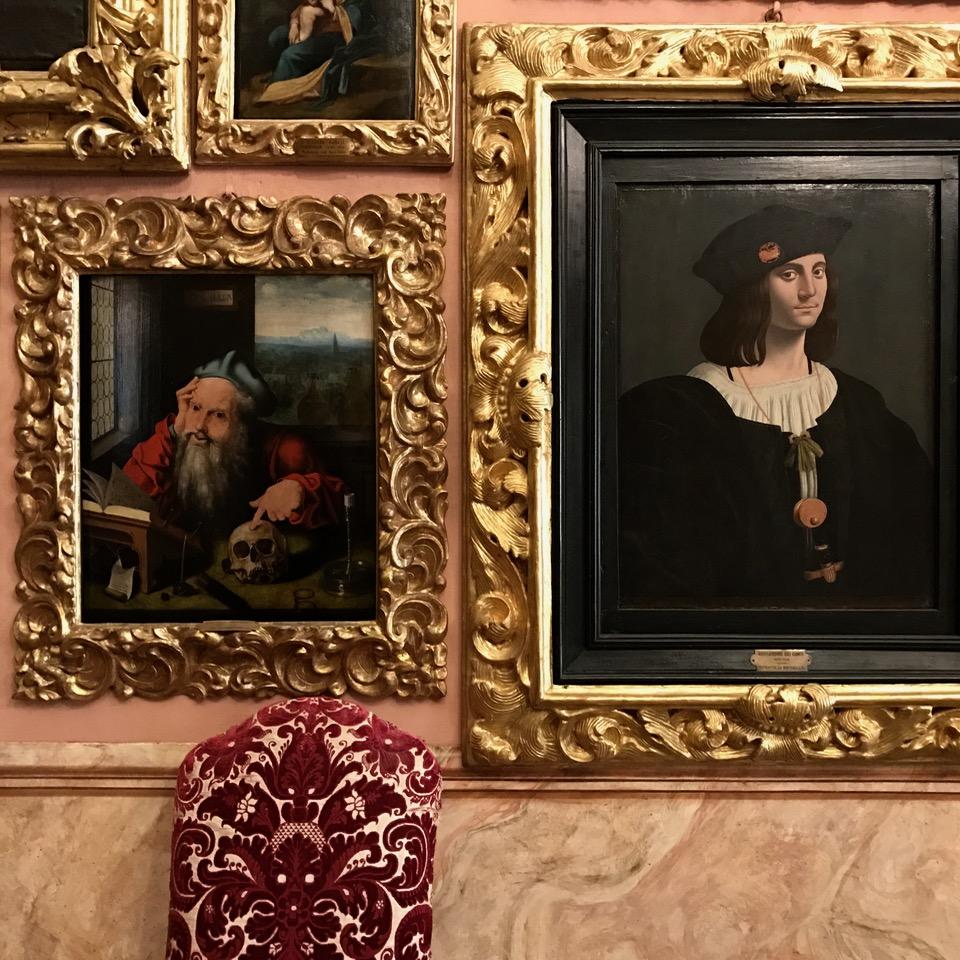 travel with kids children isola bella lago maggiore italy palazzo borromeo paintings